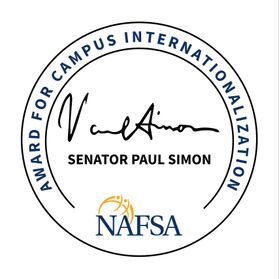 Graphic for Paul Simon International Campus Award
